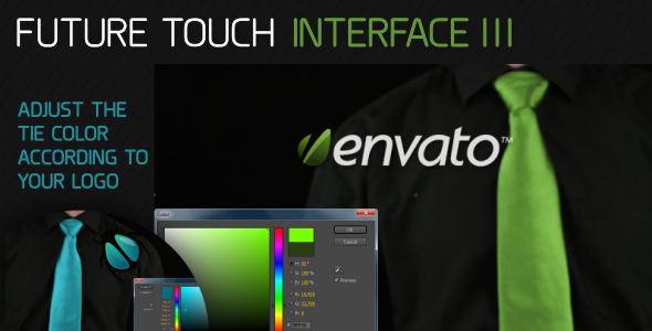 VideoHive Future Touch Interface III 1934858