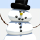Dancing snowmen web banner - GraphicRiver Item for Sale