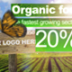 Organic Green Facts Ad or Promo - VideoHive Item for Sale