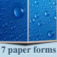 7 Paper Forms - GraphicRiver Item for Sale