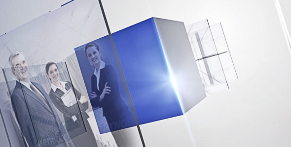 After Effects Project - VideoHive Box Glass 634485