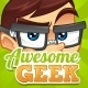 Awesome Geek Mascot - GraphicRiver Item for Sale