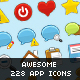 Awesome 228 app Icons - aeroplastic - GraphicRiver Item for Sale