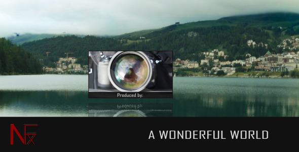 VideoHive A Wonderful World 1927446