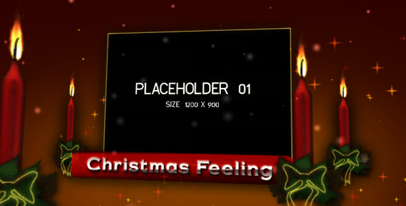 After Effects Project - VideoHive Christmas Feeling 73639