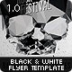 Black & White Flyer Template - GraphicRiver Item for Sale