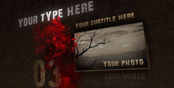 After Effects Project - VideoHive Trash Ink 35555