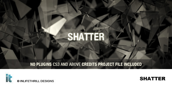 After Effects Project - VideoHive Shatter 1945628
