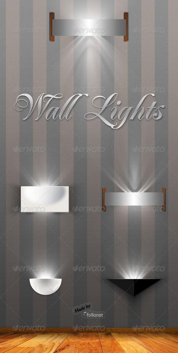 GraphicRiver Wall Lights 141018