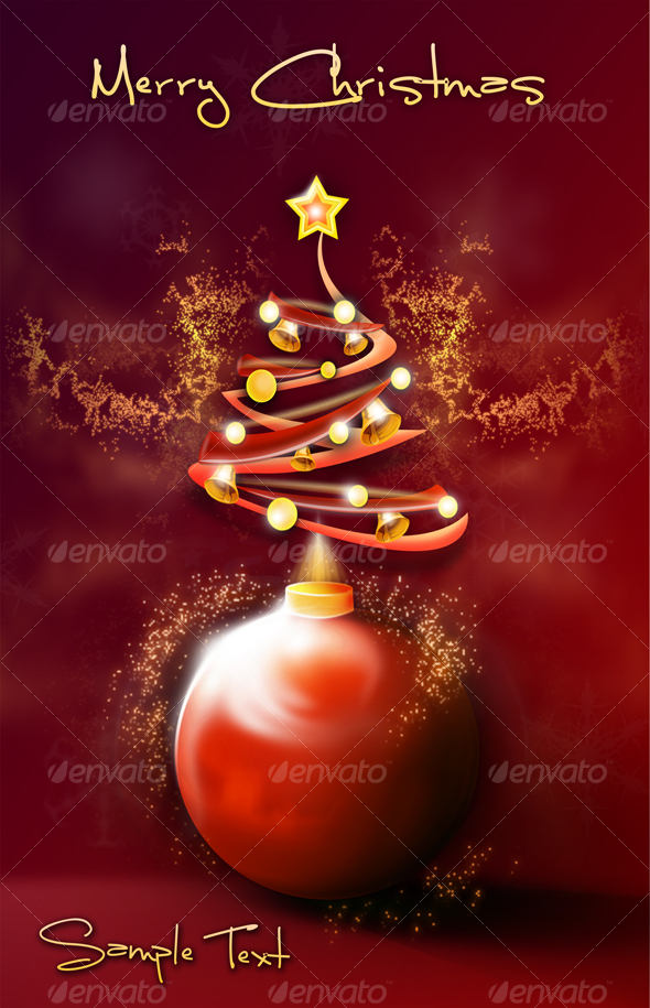 GraphicRiver Merry Christmass Illustration 75190