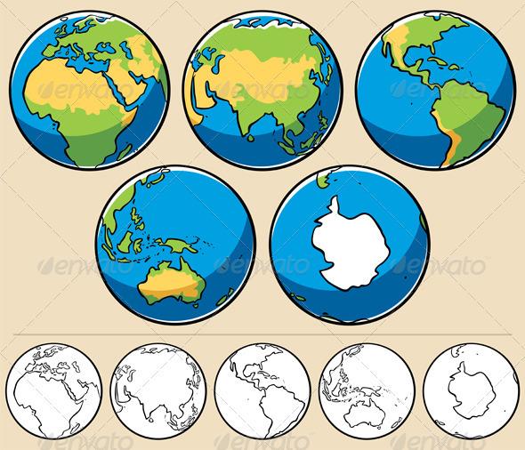 globe clipart cdr - photo #35