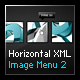 Horizontal XML Image Menu 2 - ActiveDen Item for Sale