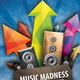 Music Madness Flyer - GraphicRiver Item for Sale