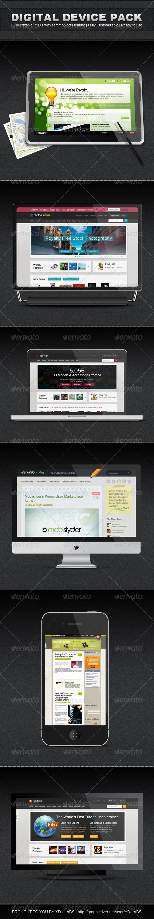 GraphicRiver Digital Device Pack 1 1952157
