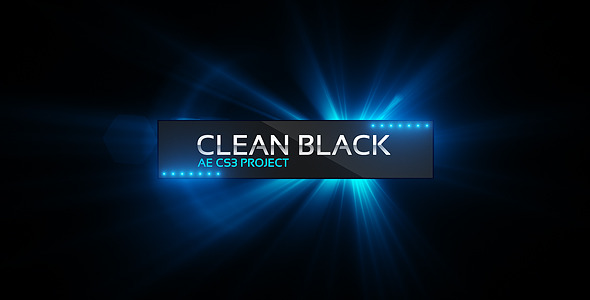 VideoHive Clean Black Presentation 1952267