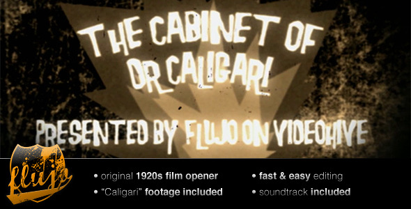 After Effects Project - VideoHive Caligari 158353