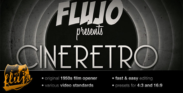 After Effects Project - VideoHive CineRetro 139057