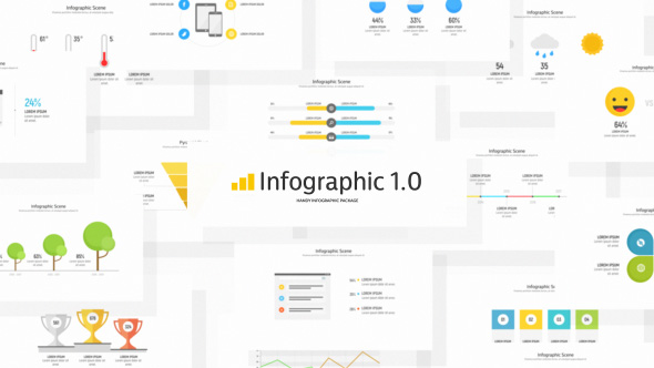 Infographic template videohive