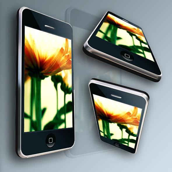 3DOcean Touchscreen Phone 74239