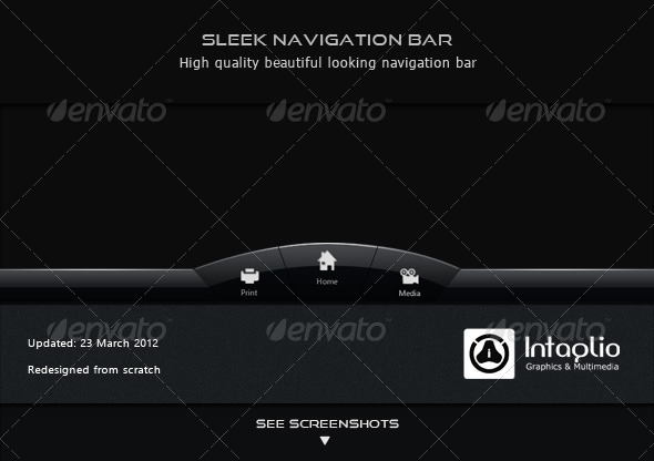 GraphicRiver Sleek Navigation Bar 149213