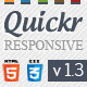 Quickr - Responsive HTML 5 Premium Template - ThemeForest Item for Sale