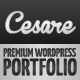 Cesare - WP Full Screen Portfolio Theme - ThemeForest Item for Sale