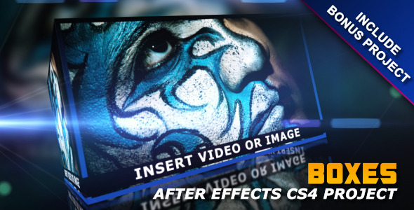 After Effects Project - VideoHive Boxes 728619