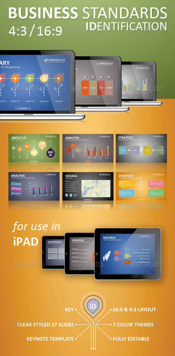 GraphicRiver IDentification Keynote Template 1928508