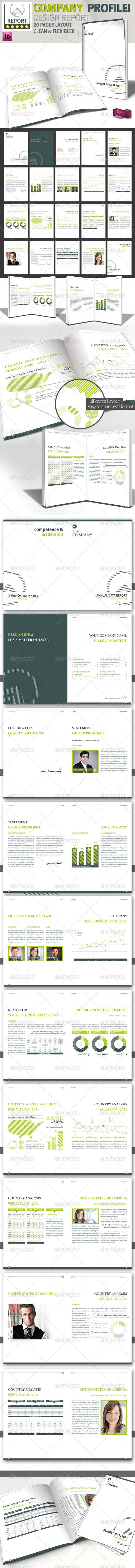 GraphicRiver Design Brochure Magazine Template A4 1967995
