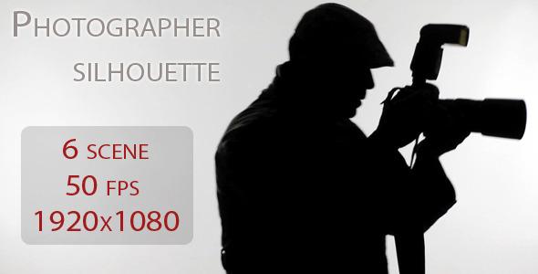 VideoHive Photographer Silhouette 1968598