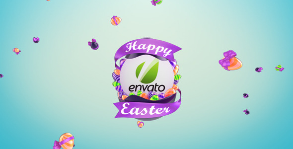 After Effects Project - VideoHive Easter Egg Logo Reveal 1951569