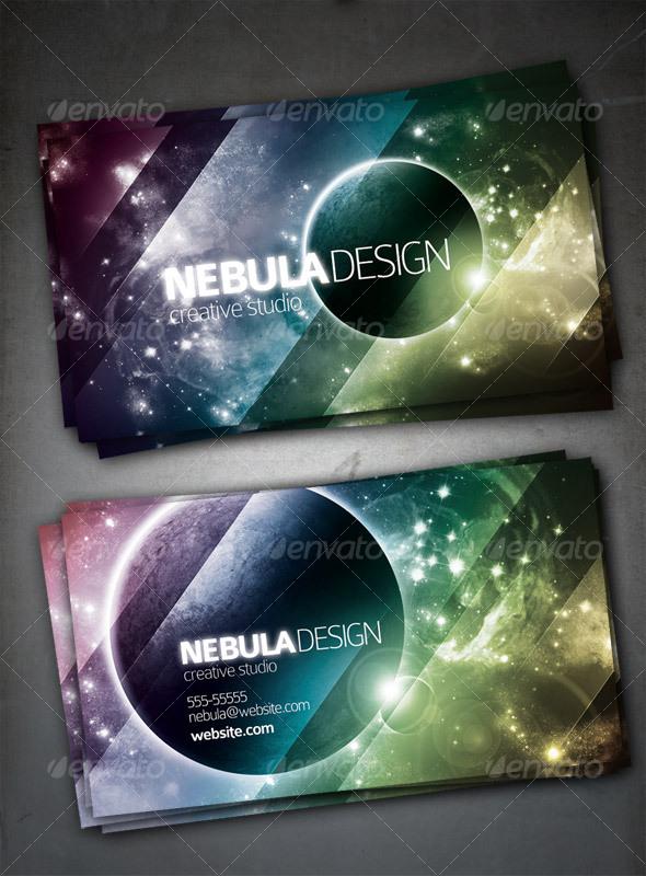 GraphicRiver Nebula Design Card 76164