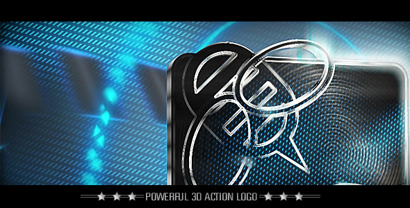 After Effects Project - VideoHive Powerful 3D Action Logo 1981755