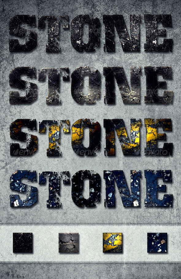 GraphicRiver Stone Text Effects & Layer Styles 1981821