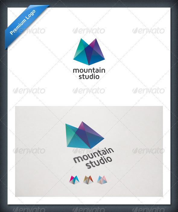 Graphic River Mountain Studio Logo Templates -  Nature 560144