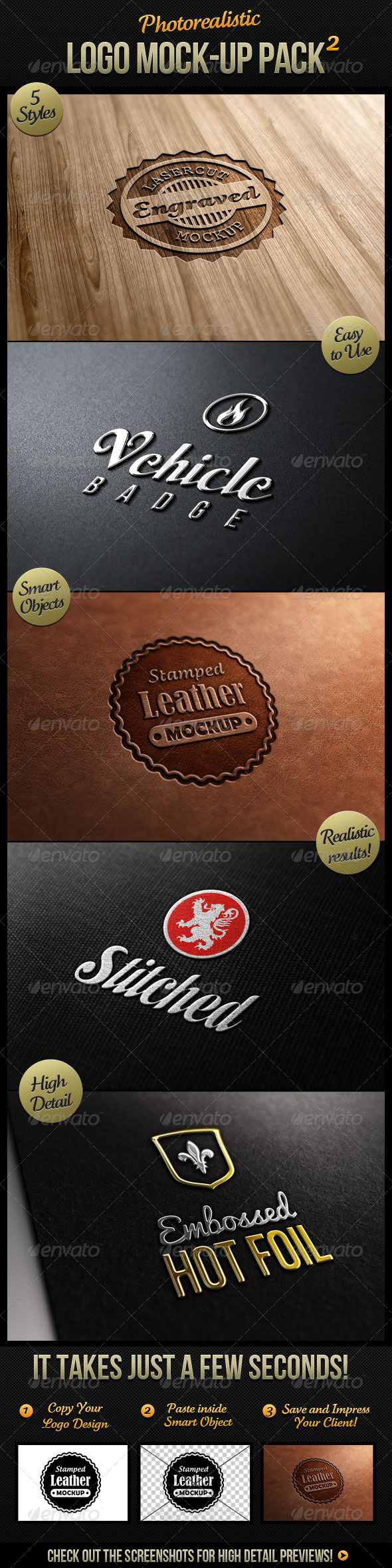 GraphicRiver Photorealistic Logo Mock-Up Pack 2 1984512