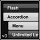 Powerful Flash Accordion Menu Unlimited Levels v3 - ActiveDen Item for Sale