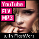 YouTube/FLV/MP3 Player with FlashVars - ActiveDen Item for Sale