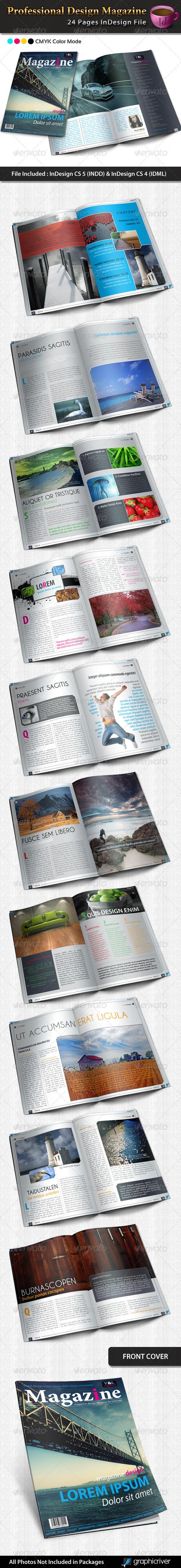GraphicRiver Professional Design Magazine Template 1986449