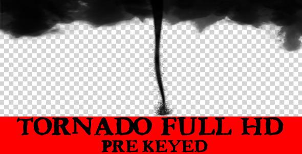 VideoHive Tornado Full Hd Pre-Keyed 1986575