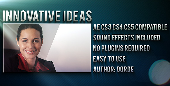 After Effects Project - VideoHive Innovative Ideas 231216