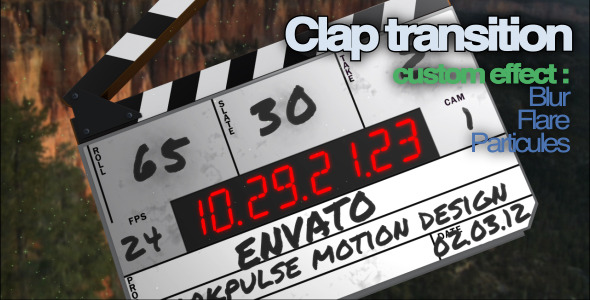 After Effects Project - VideoHive Clap Transition 1990665