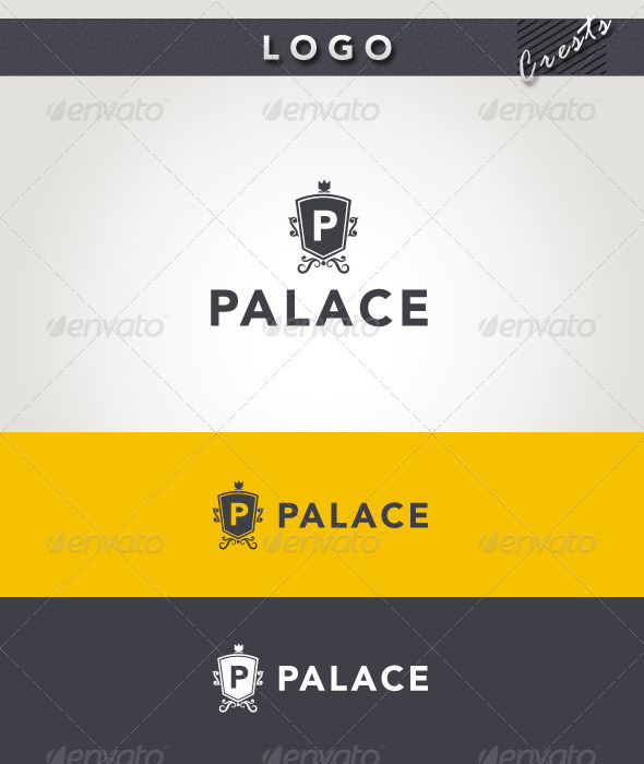 Graphic River Palace Logo Logo Templates -  Crests 1989242