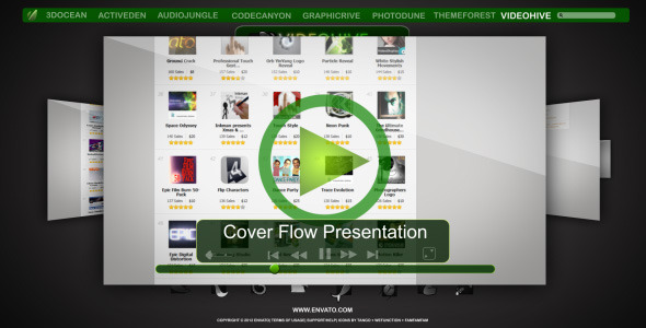 VideoHive Cover Flow Presentation 1990987