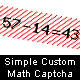 Free Download Simple Custom Math Captcha