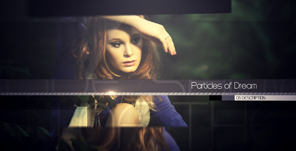 After Effects Project - VideoHive Particles of dreams 1995092