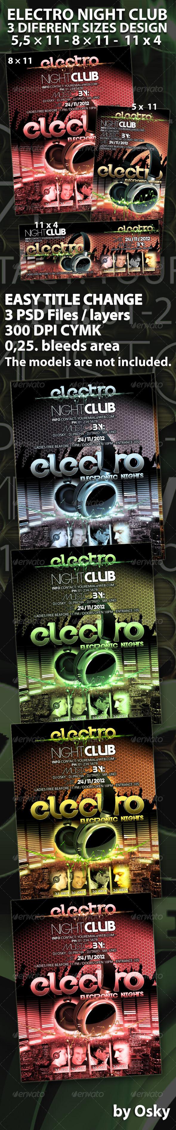 GraphicRiver Electro Night Club 261494