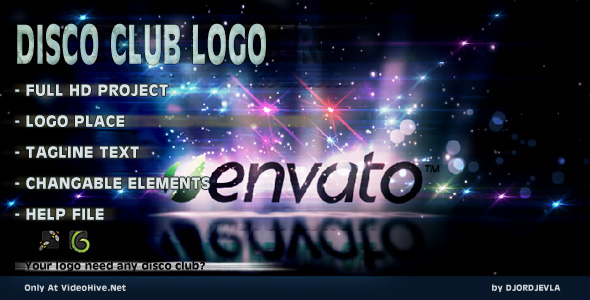 After Effects Project - VideoHive Disco Club Logo 231965