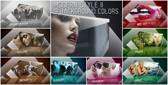 After Effects Project - VideoHive Modern Style II 232134