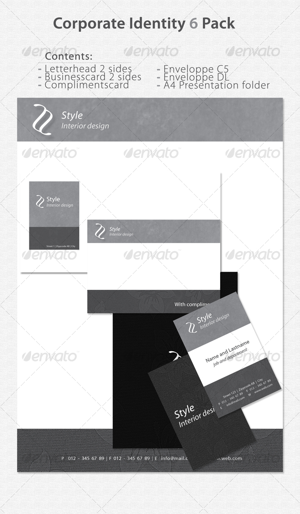 GraphicRiver Corporate Identity 6 Pack 71387